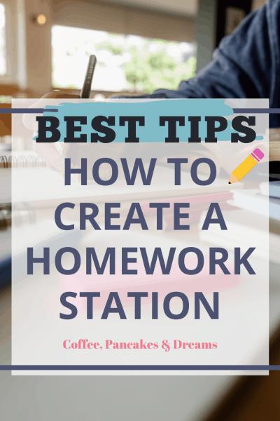 How to Make a Homework Station for Kids