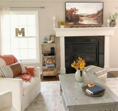 fall frame art TV