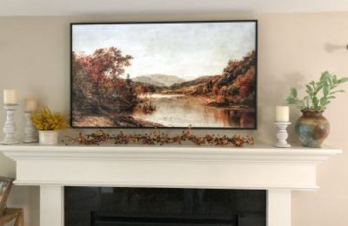 simple mantle fall decorating ideas