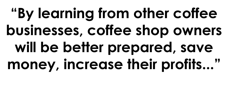 how to open a coffee shop business, being prepared before opening a coffee shop business