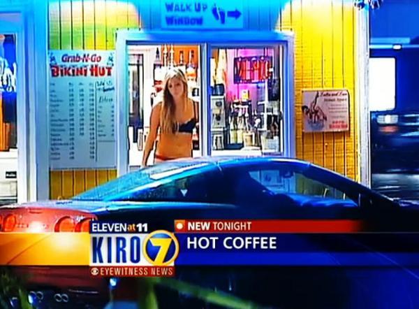 open a bikini stand, open a bikini barista coffee stand
