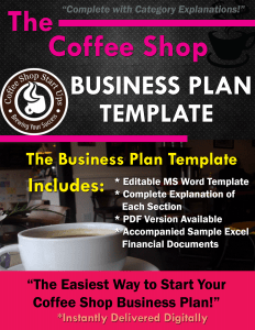 Before Starting Your Coffee Shop: Plan Your Sample Budget - Coffee ...