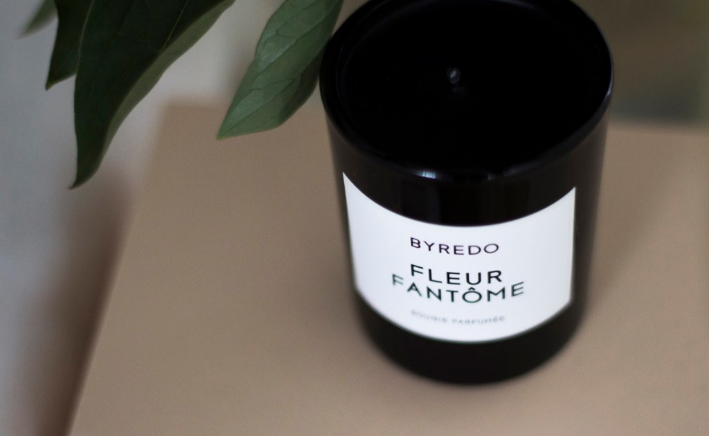 Byredo Fleur Fantôme fragranced candle Coffee Table Diary blog giveaway