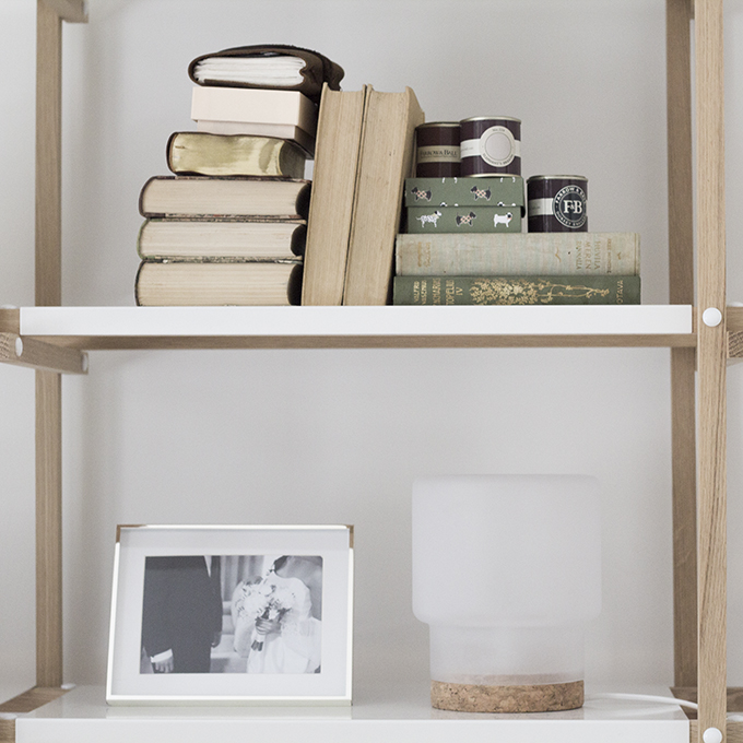 Ikea Snnerlig Lamp by Ilse Crawford Hay Woody Bookshelf bookshelf styling