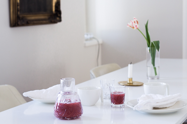 Coffee Table Diary kattaus brunssi Georg Jensen Ilse candleholder