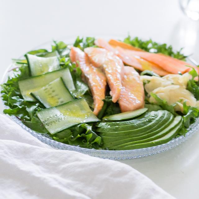 Lohisalaatti wasabi near blogi