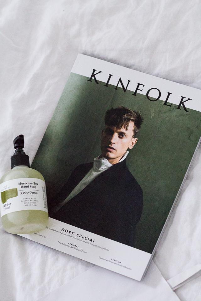 & Other stories Helsinki, saippua, Kinfolk lehti