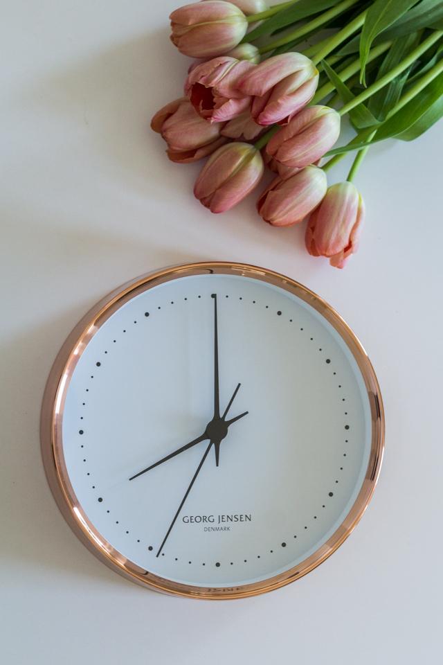 Tyylipohdintaa Georg Jensen kello
