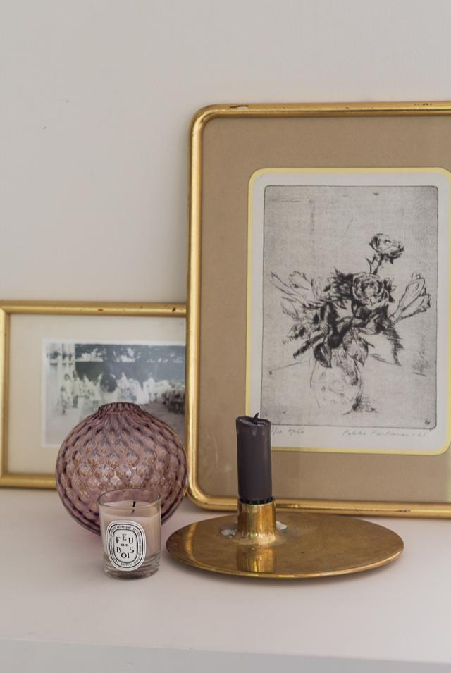 Parhaat sisustuslöydöt kirppikseltä taidegrafiikka Coffee Table Diary