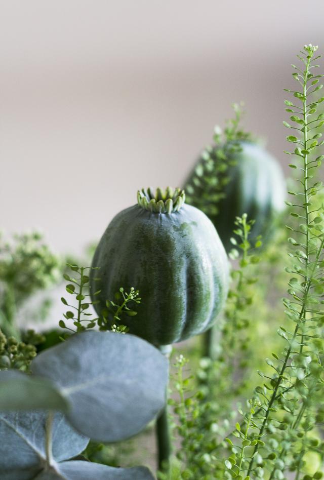 Green bouquet Marimekko Urna-7