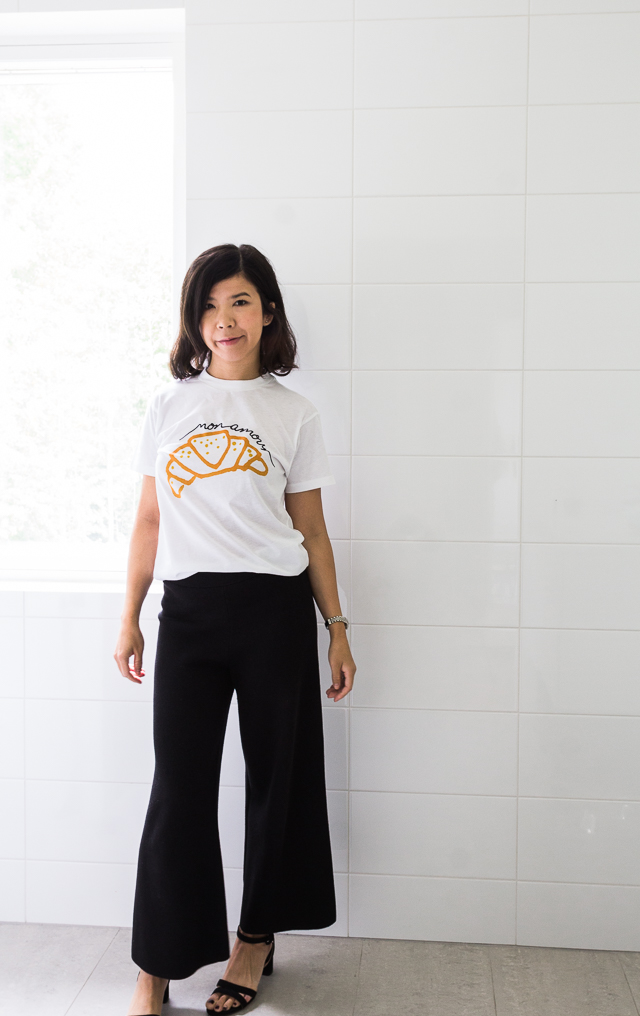 Croisant Moulin Ganni t shirt-1