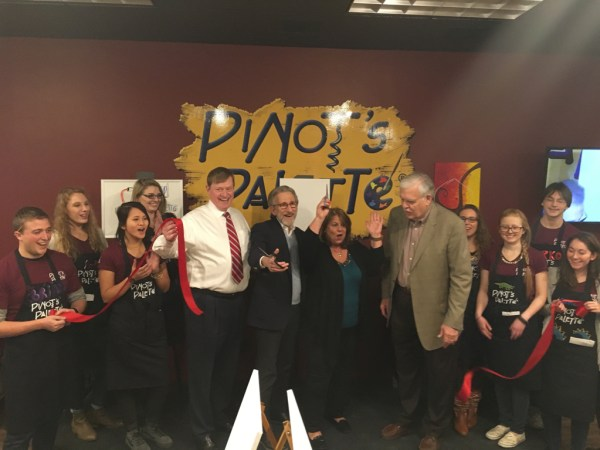 Pinot's Palette Princeton Ribbon Cutting Ceremony