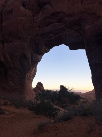 Pine Tree Arch: It's on the way to Landscape Arch, so why not check it out?
