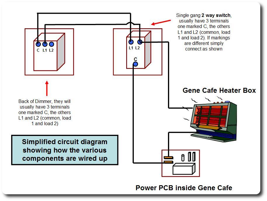 Dimmer Switch Wiring Diagram L1 L2 Diagram – 1 Gang 2 Way Switch Wiring Diagram