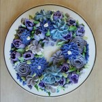 Flower Garden Cake Coffee To Compost