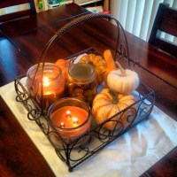 Simple Autumn Centerpiece
