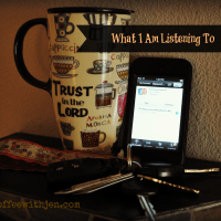 What I Am Listening To {Issue 4: Falling Deeper in Love with Jesus}