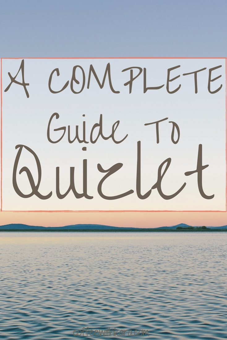 If you are a student, you NEED to check out Quizlet. Portable notecards I can access on my phone? Check. Practice tests auto-generated for me? Check. Learn more in this COMPLETE guide to Quizlet.