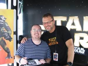 Steve Blum and I