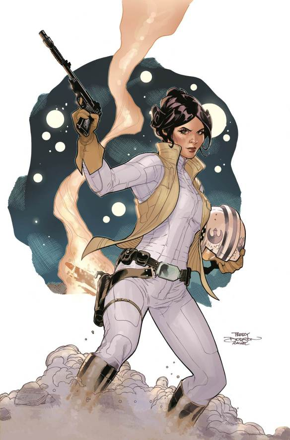 """The cover to the first issue of the five-issue mini-series """"Star Wars: Princess Leia,"""" written by Mark Waid and drawn by Terry Dodson, due out in March 2015."""