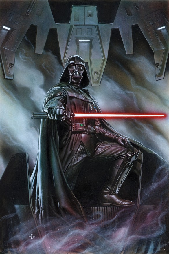 The rise and fall of Darth Vader is legendary. Starting in February, Marvel Comics will publish a monthly series focusing on the Dark Lord of the Sith's efforts to recover his footing, prestige and favor with Emperor Palpatine and the Empire, in the aftermath of the Battle of Yavin. Penned by Kieron Gillen and drawn by Salvador Larroca, it's a series that will focus on the complexities of one of mythology's greatest villains.