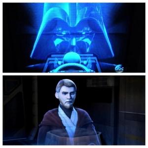 Vader and Obi Wan Kenobi