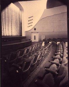 Cinema interior.