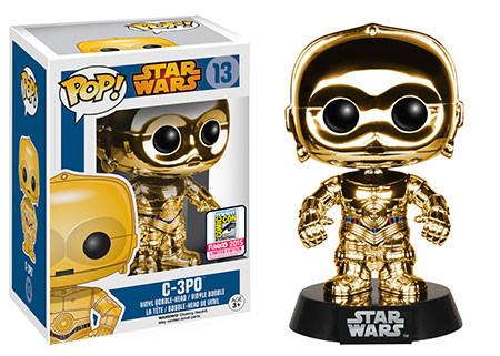 Pop! Star Wars: Chrome C-3PO Gold