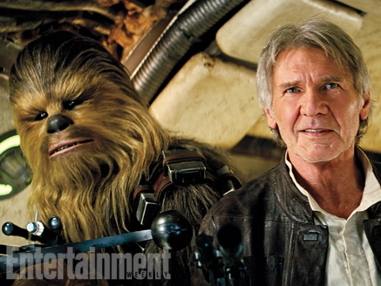 Han and Chewie are home