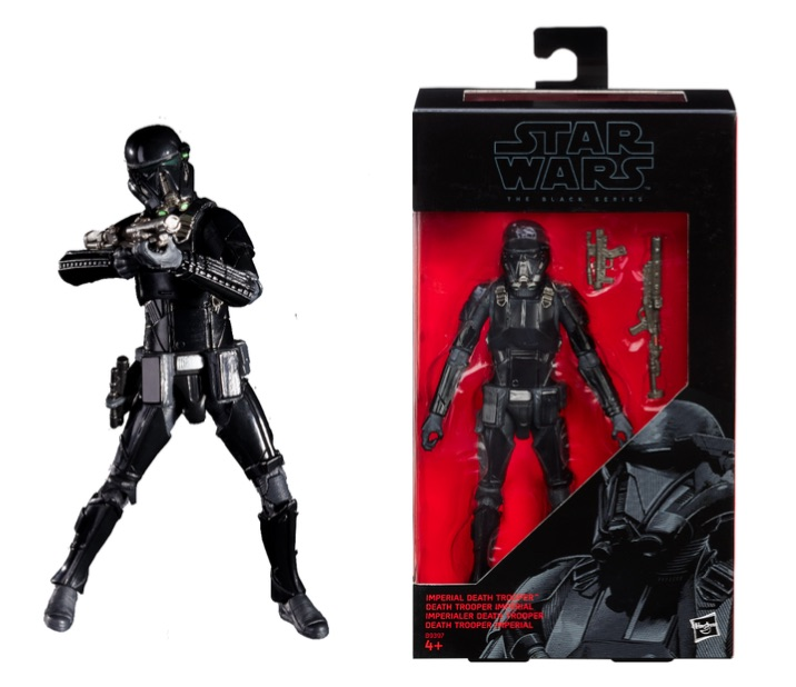 Star Wars: The Black Series 6-in. Imperial Death Trooper Price: $19.99 Available Fall 2016