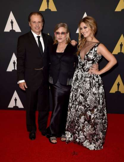 Todd Fisher, Carrie, and Billie