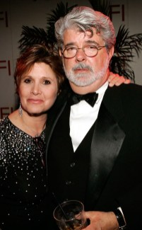 Carrie and George Lucas