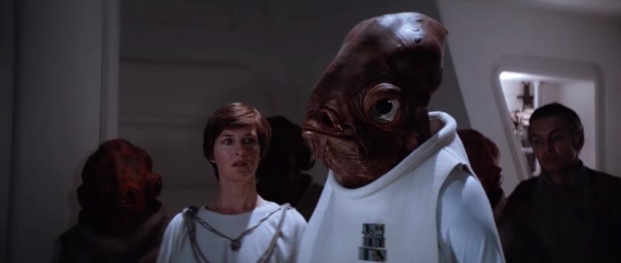 Death Star Briefing Room - Mon Mothma and Admiral Ackbar