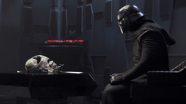 Forces of Evil in Star Wars - Kylo and Vader's Helmet