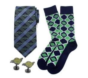 Yoda Green and Navy Gift Set