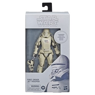 STAR WARS: THE BLACK SERIES CARBONIZED COLLECTION First Order Jet Trooper - $24.99 (HASBRO/Ages 4 years & up/Approx. Retail Price: Starting at $24.99/Available: Fall 2019)