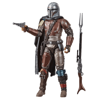 STAR WARS: THE BLACK SERIES CARBONIZED COLLECTION Mandalorian - $24.99 (HASBRO/Ages 4 years & up/Approx. Retail Price: Starting at $19.99/Available: Fall 2019)