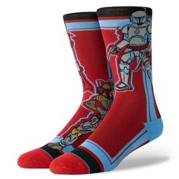 Mandalorian Socks - $18 Available at stance retail and online.