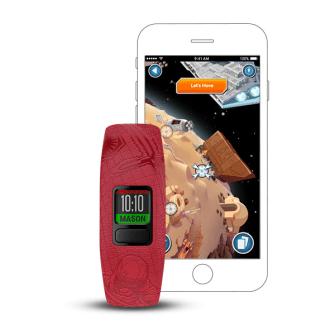 Dark Side vívofit jr. 2 - $69.99 Star Wars kids fitness tracker with interactive app experience.