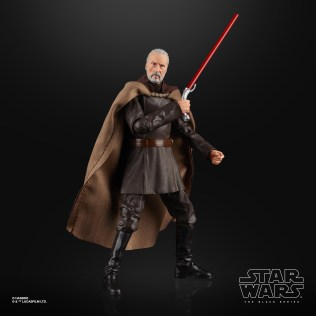 STAR WARS THE BLACK SERIES 6-INCH COUNT DOOKU Figure (2)
