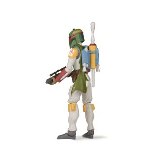 STAR WARS GALAXY OF ADVENTURES 5-INCH BOBA FETT Figure oop (4) copy