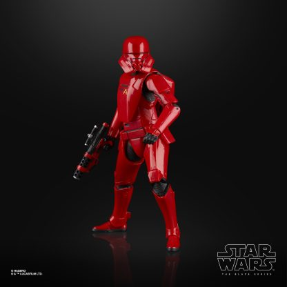 STAR WARS THE BLACK SERIES 6-INCH SITH JET TROOPER Figure oop (2)
