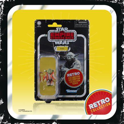 STAR WARS RETRO COLLECTION 3.75-INCH Figure - Yoda (1)