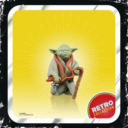 STAR WARS RETRO COLLECTION 3.75-INCH Figure - Yoda (3)