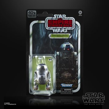 STAR WARS THE BLACK SERIES 40TH ANNIVERSARY 6-INCH R2-D2 (DAGOBAH) - in pck