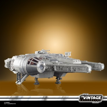 STAR WARS THE VINTAGE COLLECTION GALAXY'S EDGE MILLENNIUM FALCON SMUGGLER'S RUN Vehicle - oop (6)