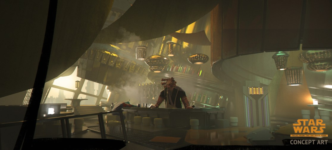 Seezelslak - Cantina Vista - Star Wars Tales from the Galaxy's Edge (Logo)