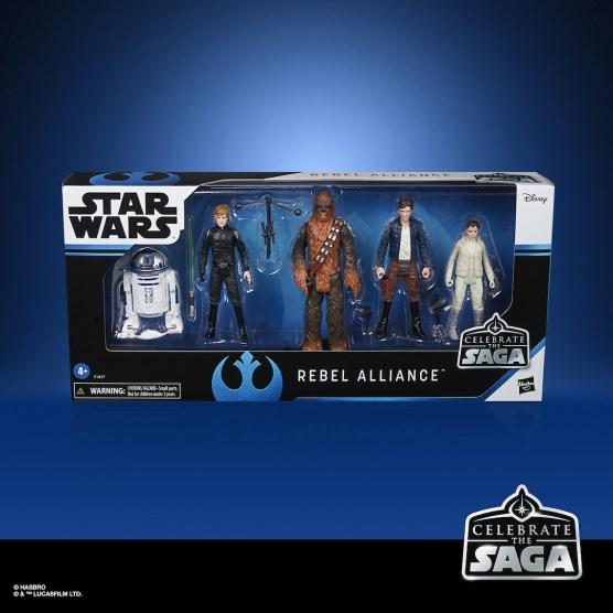 STAR WARS CELEBRATE THE SAGA 3.75-INCH REBEL ALLIANCE Figure 5-Pack - in pck
