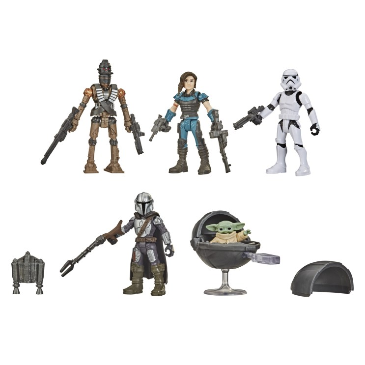 STAR WARS MISSION FLEET DEFEND THE CHILD Figure and Vehicle Pack - oop