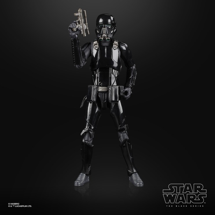 STAR WARS THE BLACK SERIES ARCHIVE 6-INCH IMPERIAL DEATH TROOPER Figure - oop (4)